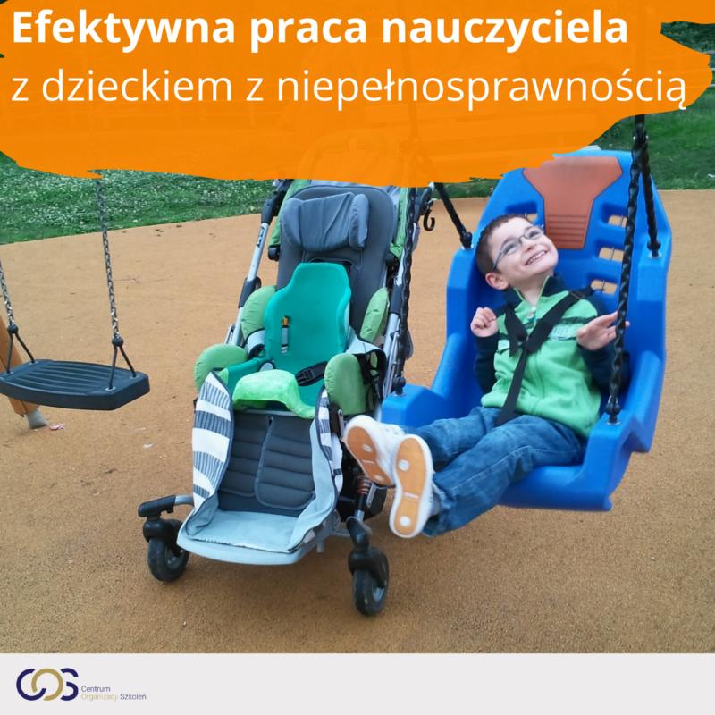 Dziecko z niepełnosprawnością – efektywna praca nauczyciela