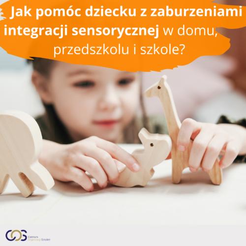 Jak pomóc dziecku z zaburzeniami integracji sensorycznej wdomu, przedszkolu i szkole?