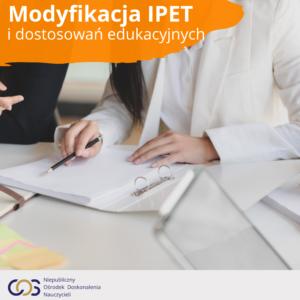 Modyfikacja IPET