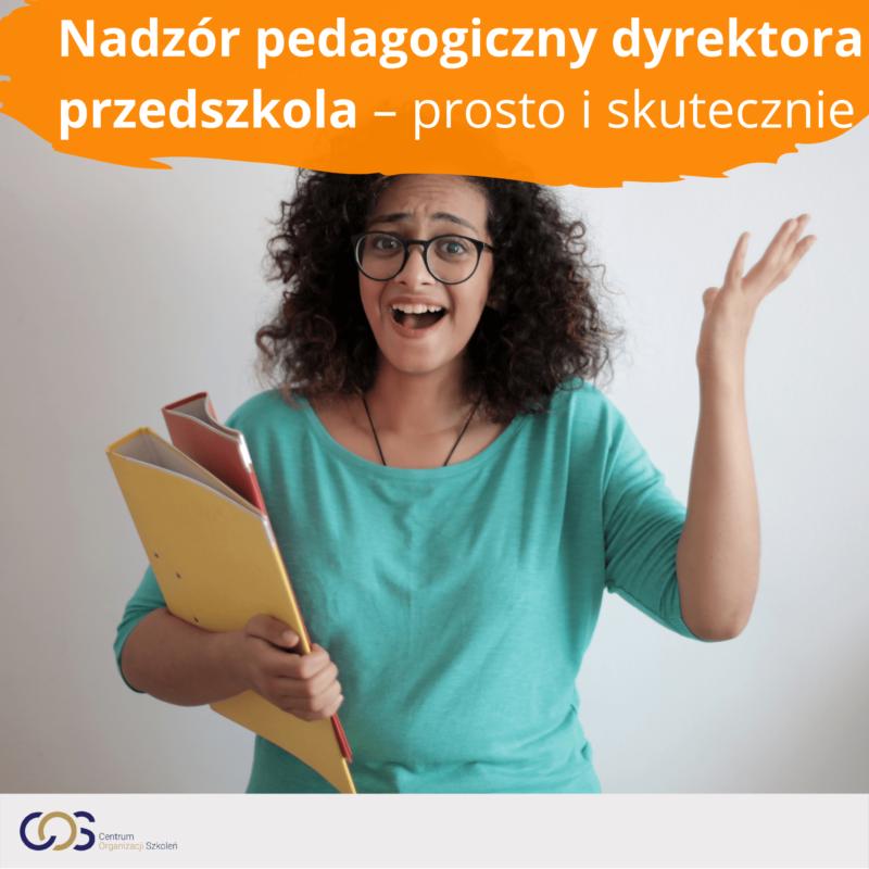 Nadzór pedagogiczny dyrektora przedszkola – prosto i skutecznie