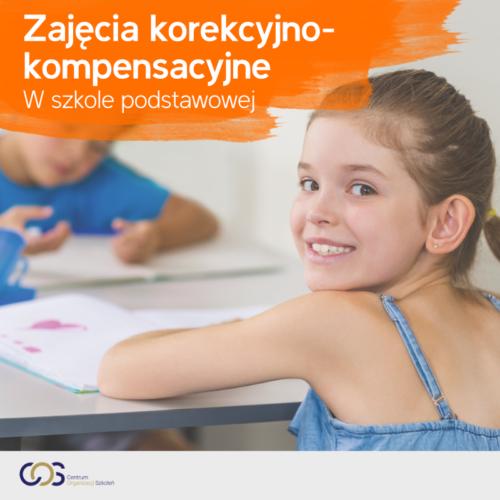Zajęcia korekcyjno-kompensacyjne w szkole podstawowej