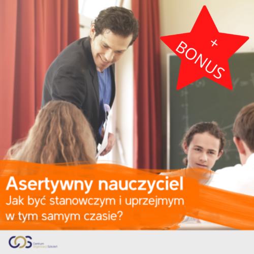 asertywny nauczyciel